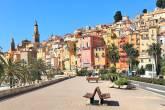 Cidade de Menton na França