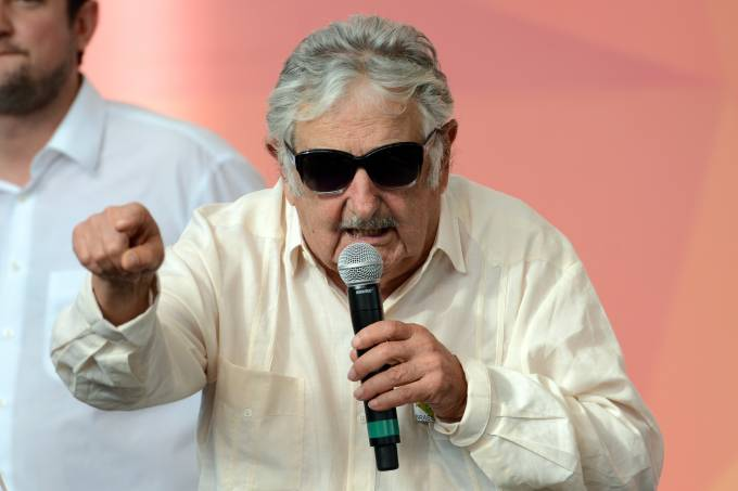 Ex-presidente do Uruguai, Pepe Mujica