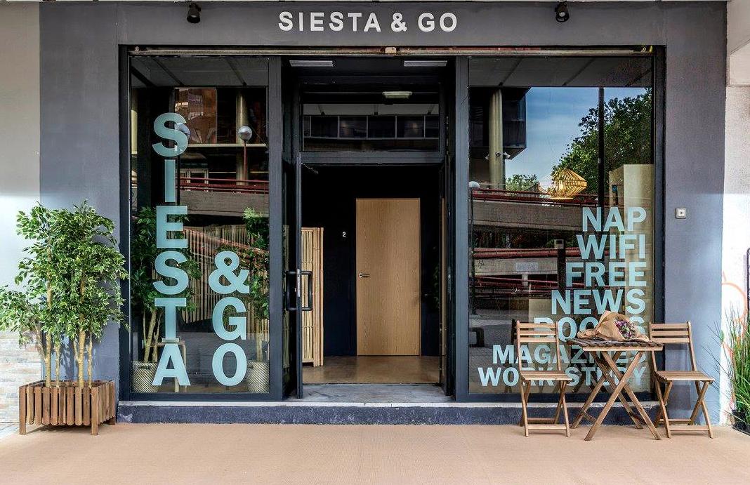 Siest & Go estabelecimento de siestas em Madri, na Espanha
