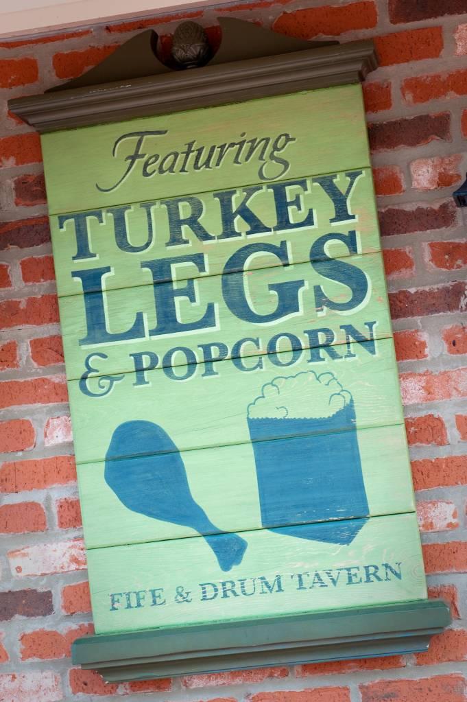 Turkey Legs, disney