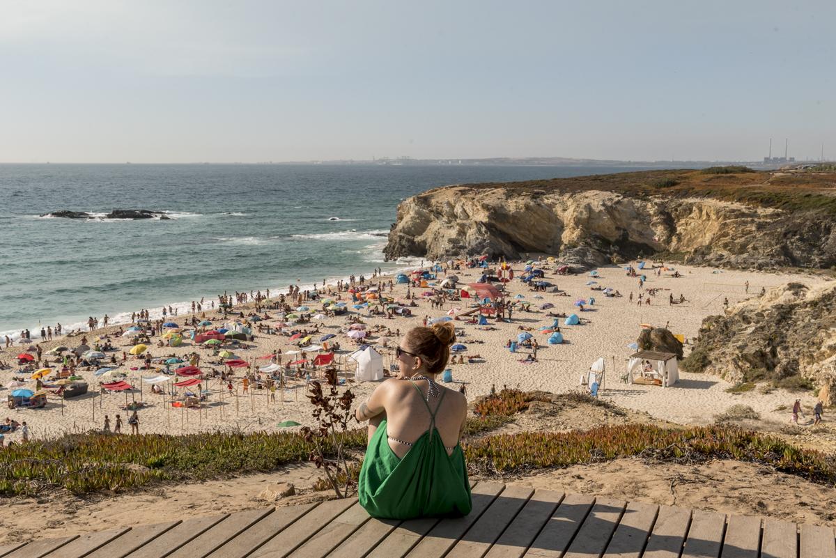 A Praia Grande: mais ampla e pertinho do centro