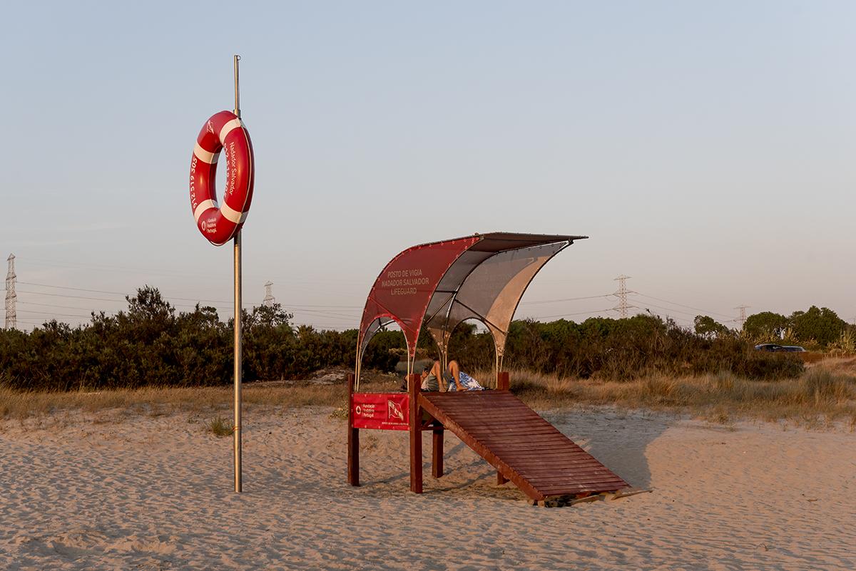 O areal extenso: águas ora calminhas, ora com boas ondas para o surfe