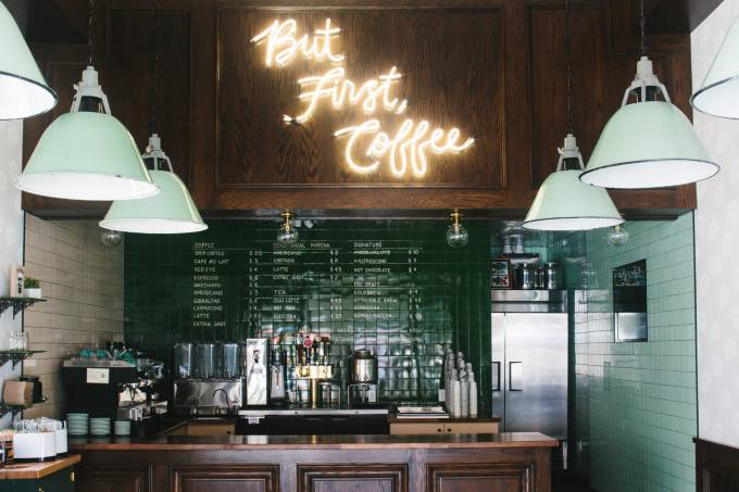 Alfred Coffee, Los Angeles