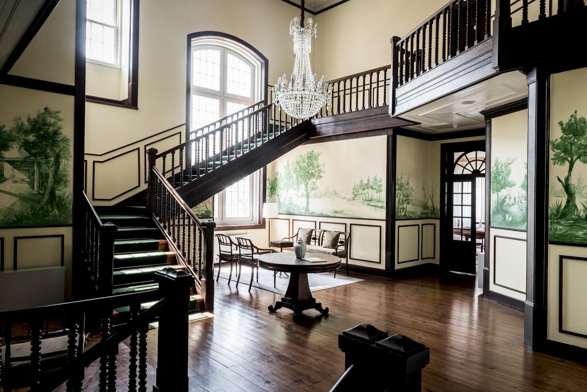O palacete dos proprietários: hoje parte do hotel de luxo