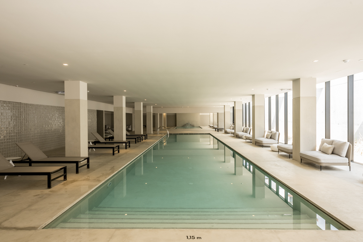 As piscinas aquecidas: relax total