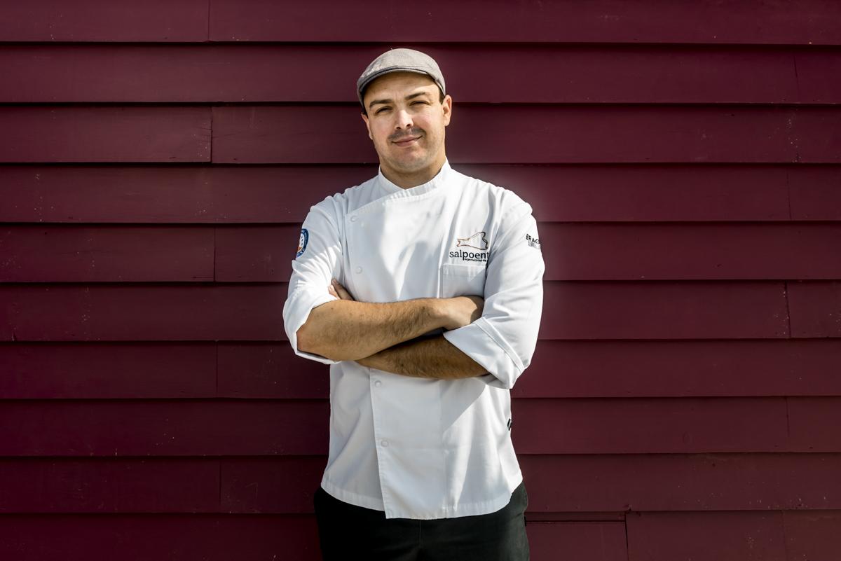 O chef Duarte Eira: homenagem ao bacalhau