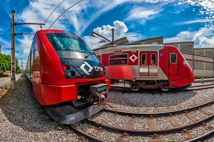 Trem CPTM São Paulo
