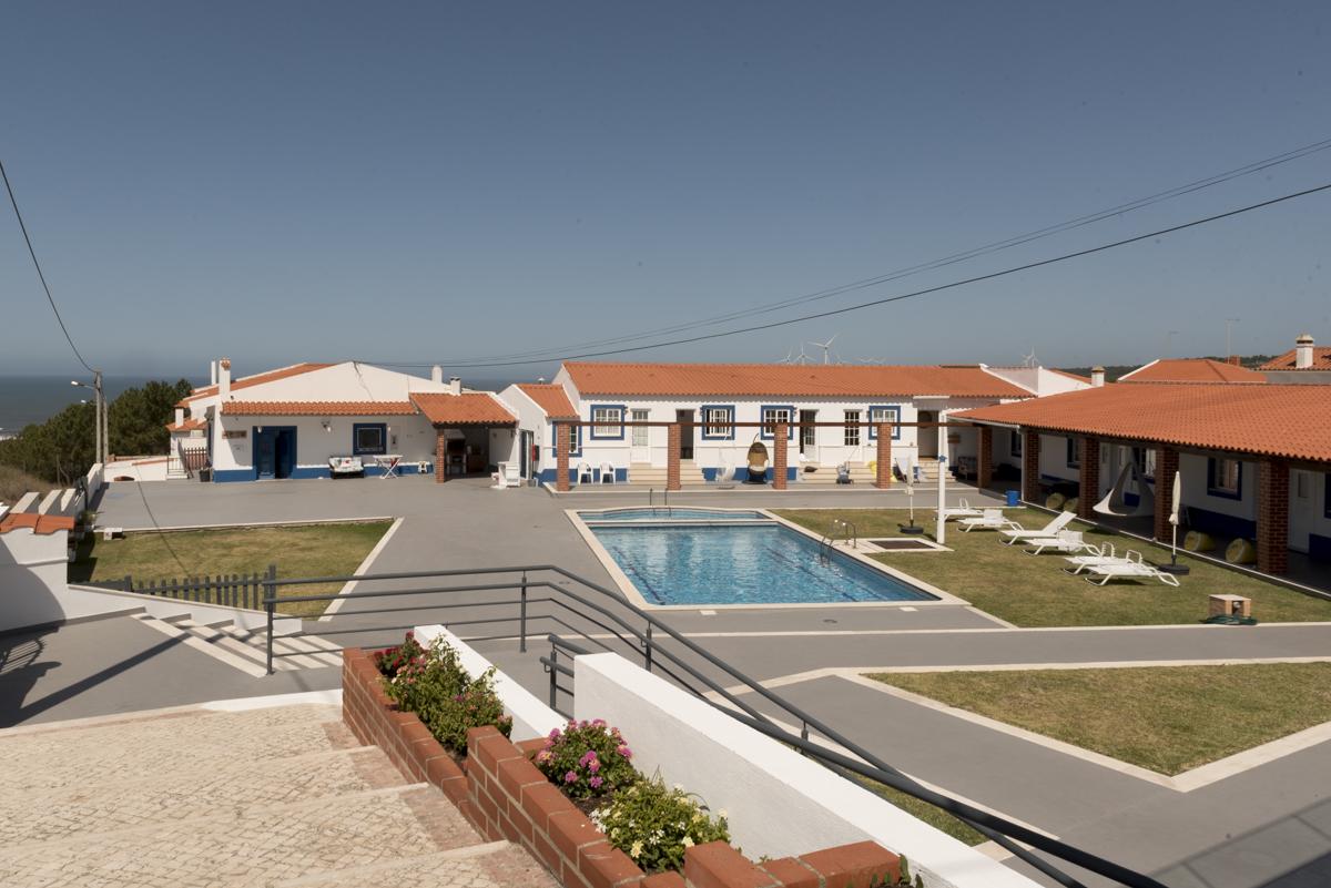 Vista do hotel: clima de pousada, ares de hostel boutique