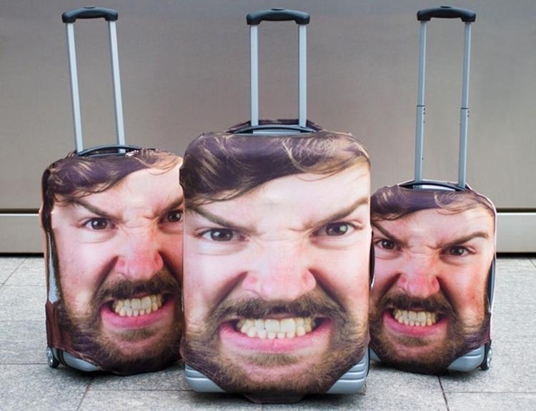 Head Case, colocar uma foto na mala, é a solução para nunca mais perder a dita na esteira de bagagem