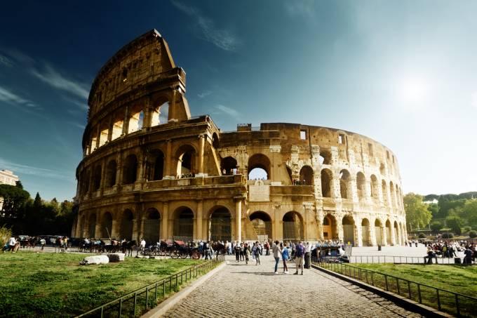 Coliseu, em Roma