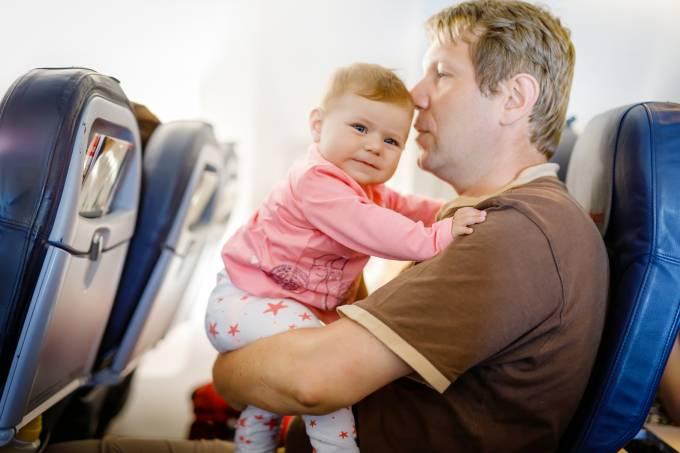 Pai e filho avião
