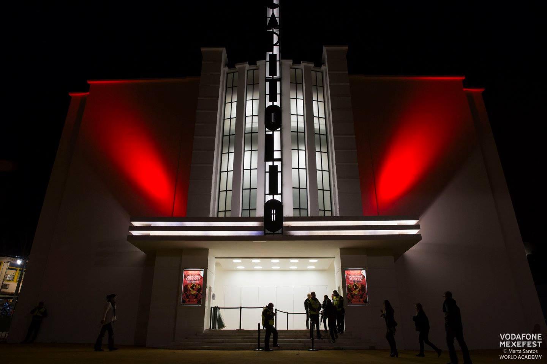 O cine-teatro Capitólio, endereço clássico do centro lisboeta e palco de shows