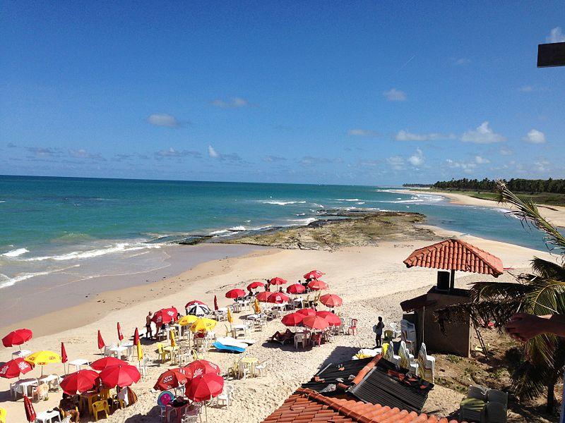 O complexo Dunas de Marapé, em Jequiá da Praia (AL) tem bar, restaurante e esportes náuticos.