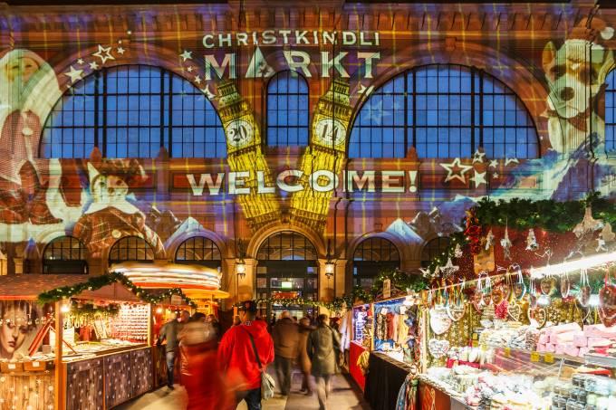 Mercado de Natal – Christkindlimarkt – Zurique, Suíça