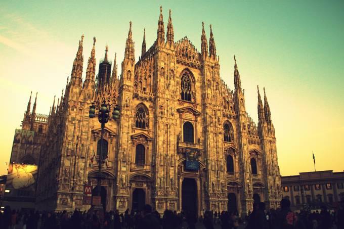 Duomo de Milão, Milão, Lombardia, Itália