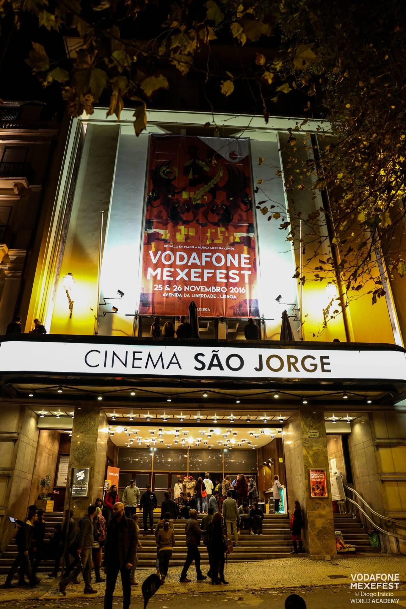 O Cinema São Jorge no festival do ano passado
