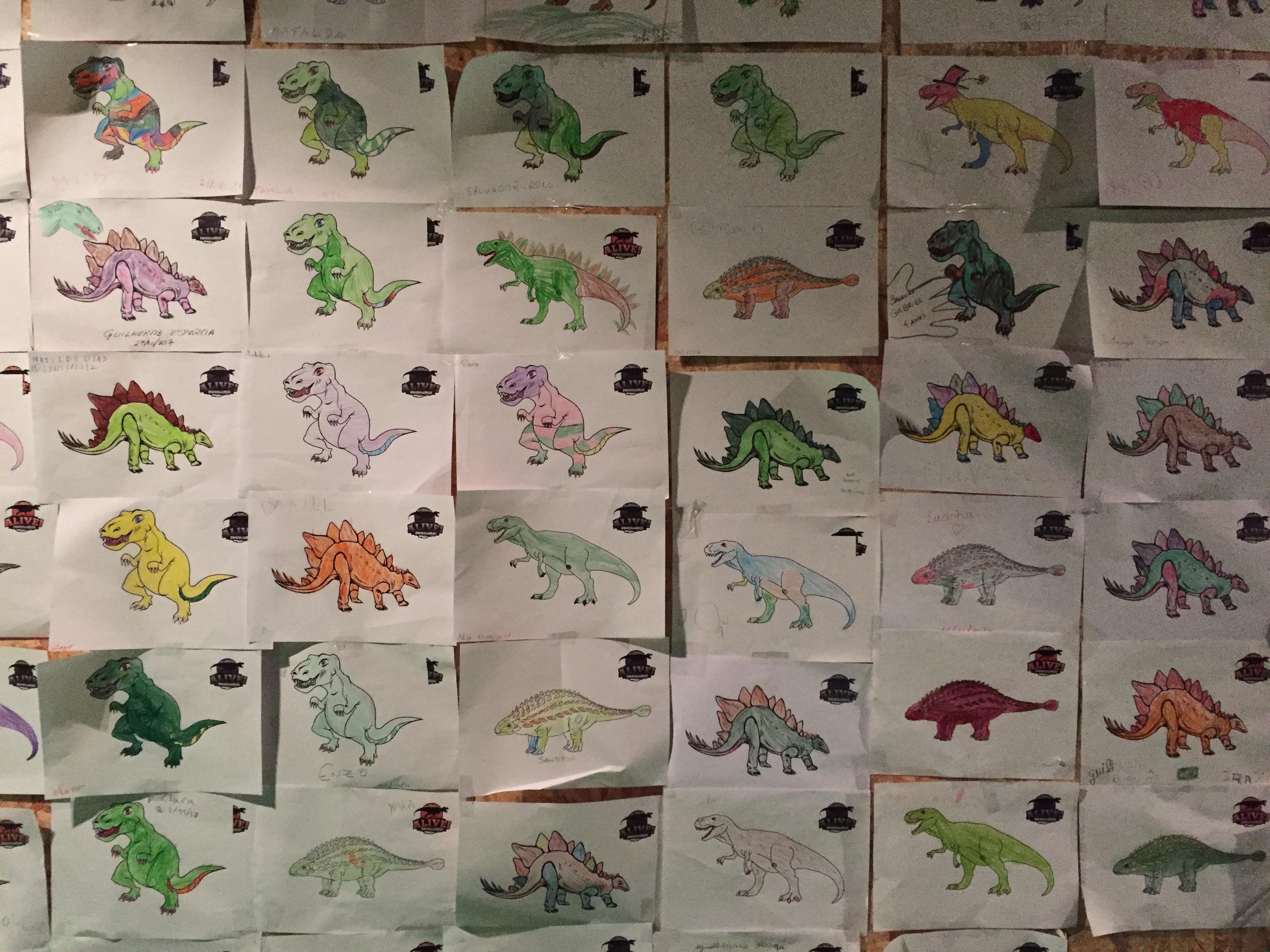 Os desenhos infantis na oficina de artes