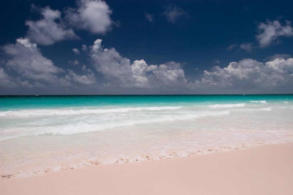 Pink Sands Beach, nas Bahamas