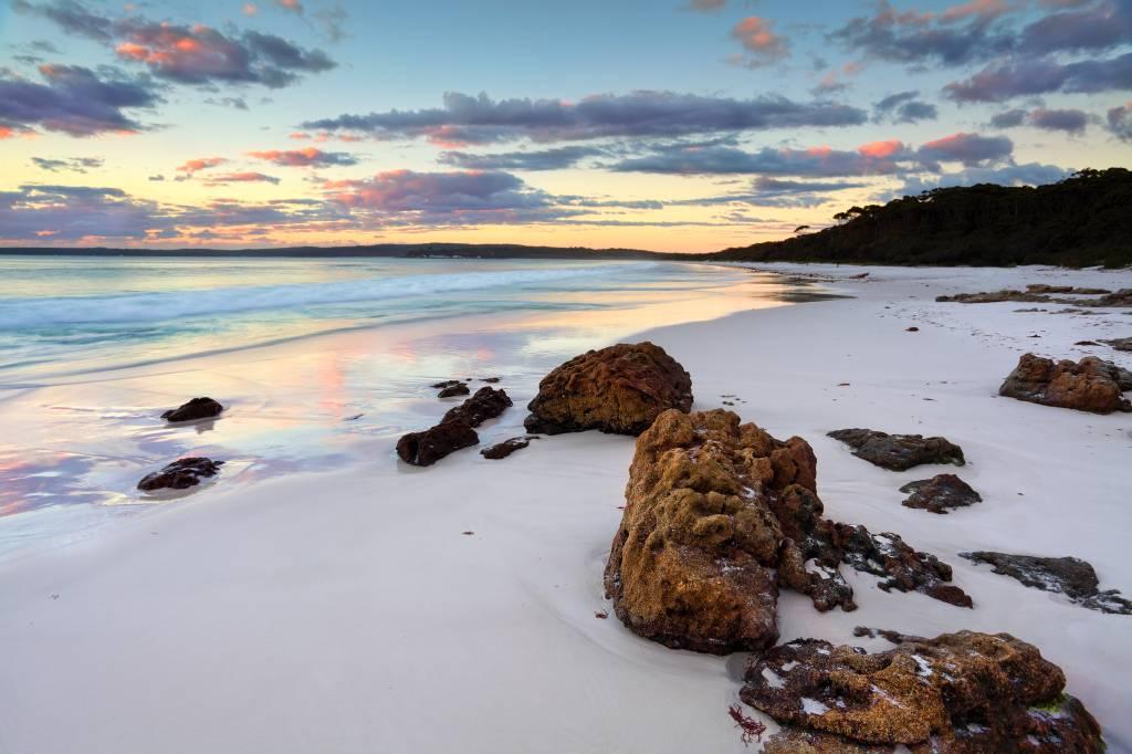 Hyams Beach, na Austrália