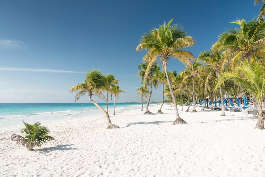 Playa Paraiso, no México