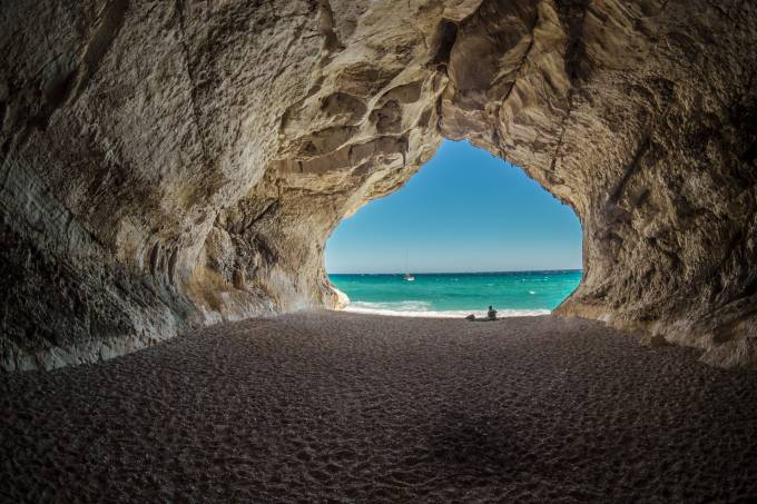 Cala Gonone, Golfo di Orosei, Sardenha, Itália