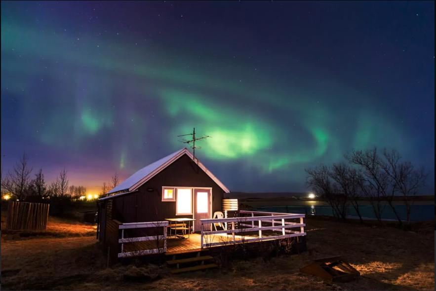 Cabana na Islândia