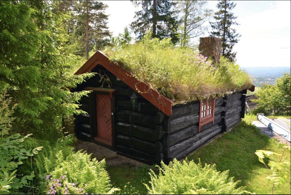 Cabana na Noruega