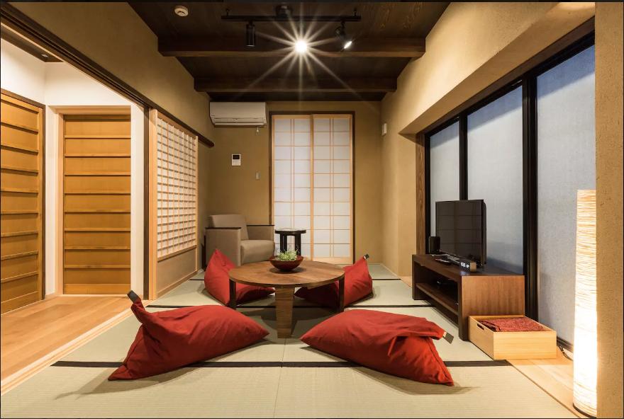Ryokan em Kyoto, Japão