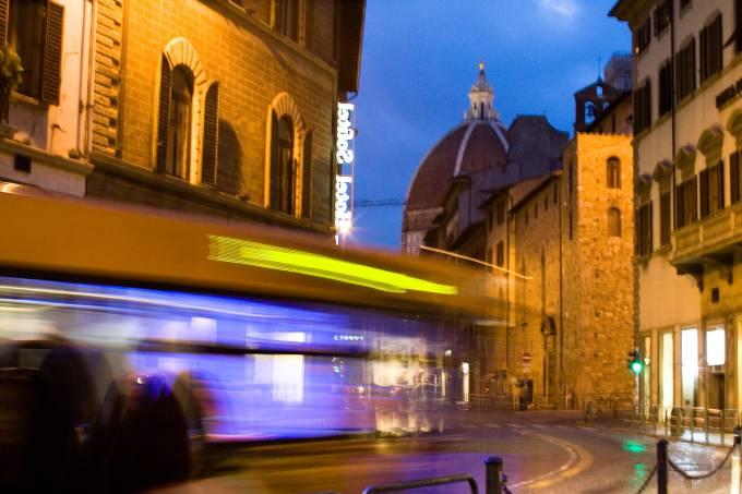 Ônibus, Florença, Toscana, Itália