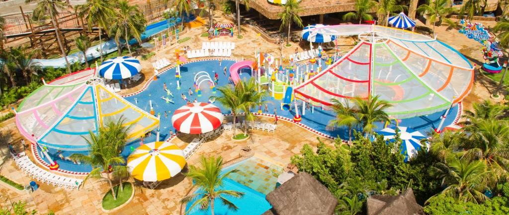 Acqua Circo, atração do Beach Park, Ceará