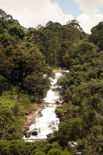 Próximas do Centro, as Sete Quedas reúnem as cachoeiras mais famosas da cidade