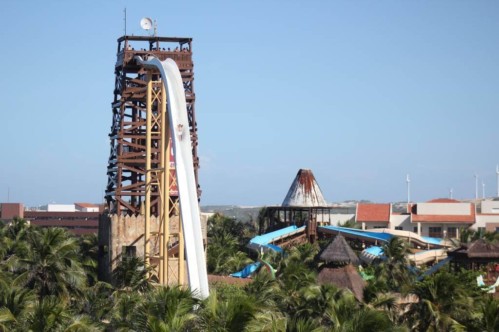 Insano, atração do Beach Park, Ceará