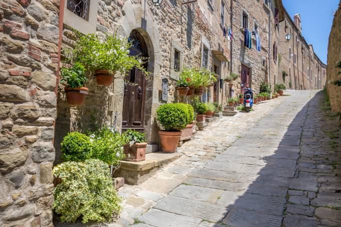 Cortona, Toscana, Itália