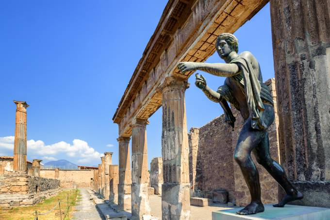 Templo de Apolo, Pompeia, Itália