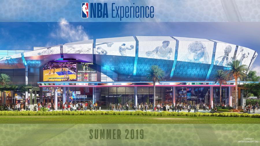 NBA experience, Disney Springs