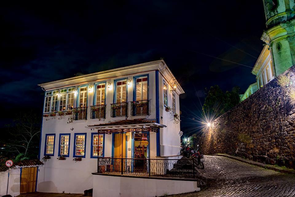 Bené da Flauta, em Ouro Preto: refeição com boa música e vista panorâmica. Crédito: