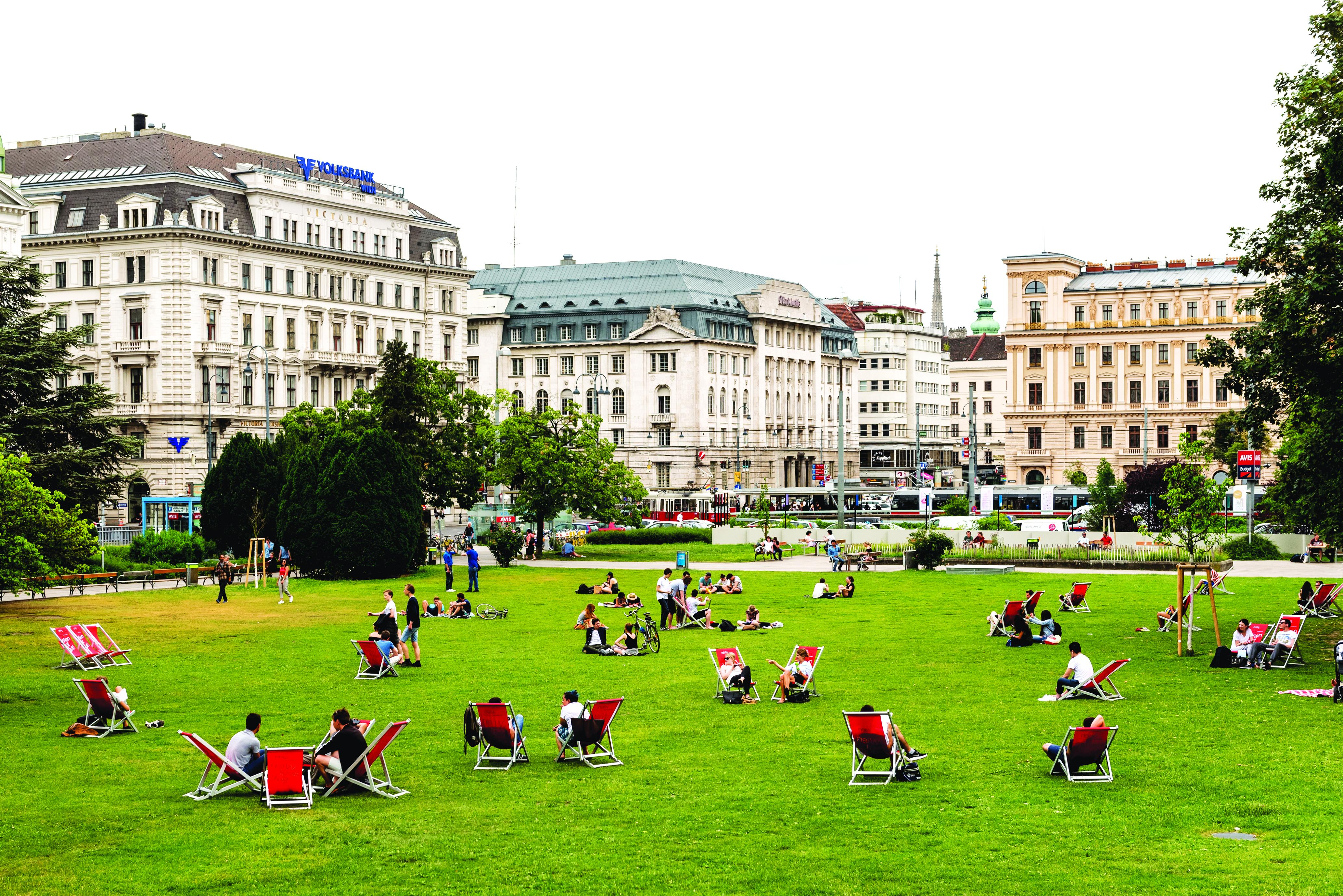 Praça Centro Historico, Viena