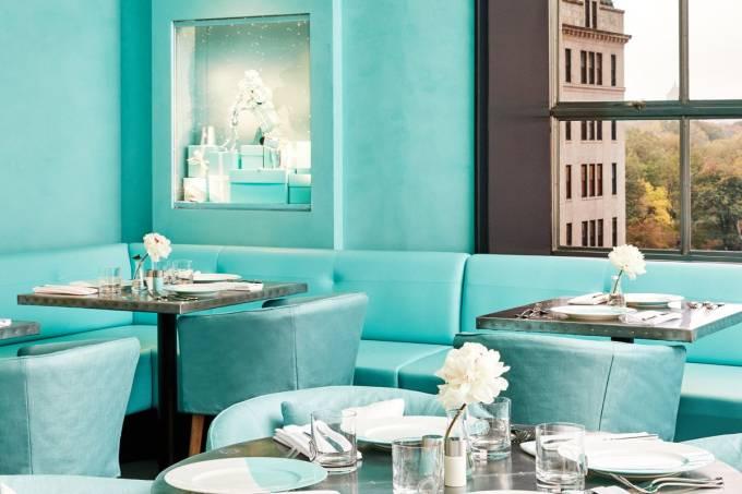 Blue Box Café, Tiffany & Co