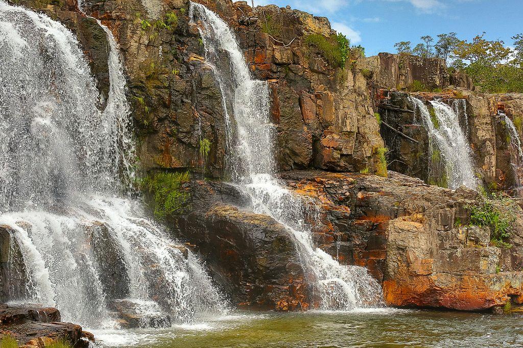 Catarata dos Couros, em Alto Paraíso de Goiás: pode ser difícil chegar, mas esforço compensa