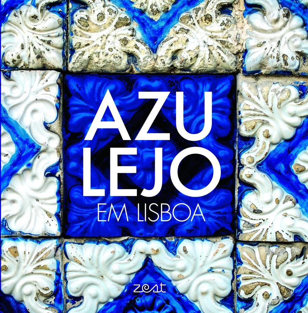 A capa do livro: bela curadoria dos mais bonitos azulejos da cidade