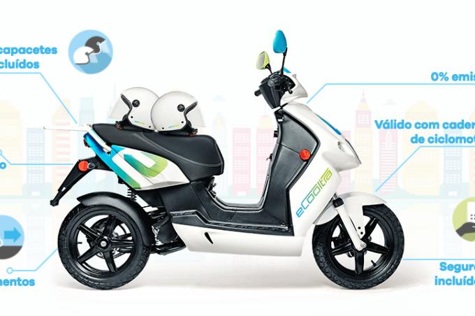 Compartilhamento de motos na Europa