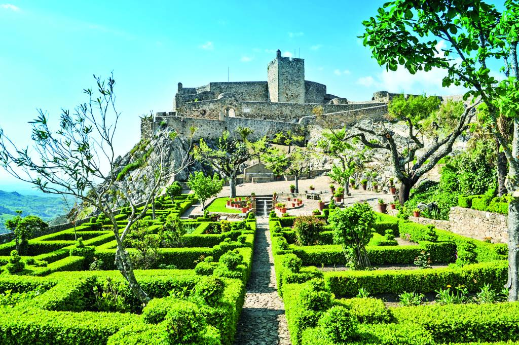 Castelo de Marvão, Serra do Sapoio, Portugal