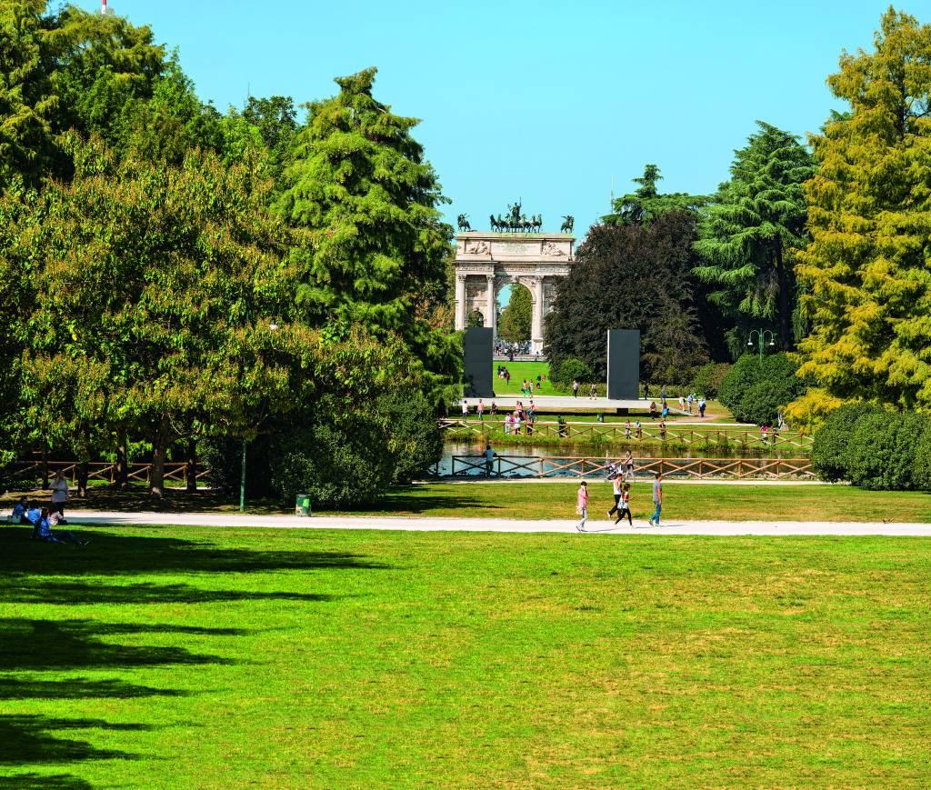 Arco della Pace, Milão, Itália