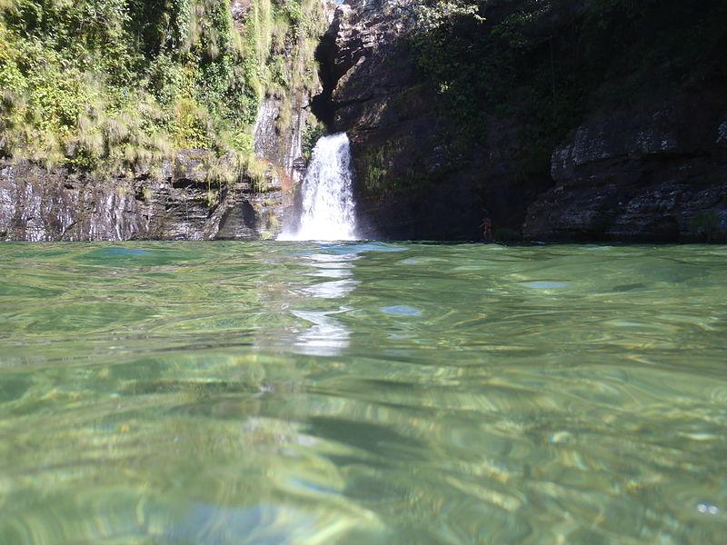 Cachoeira Rei do Prata: a mais importante do Complexo da Cachoeira do Prata, em Cavalcante