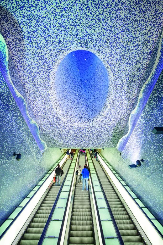 Estação de metrô Toledo, Nápoles, Itália