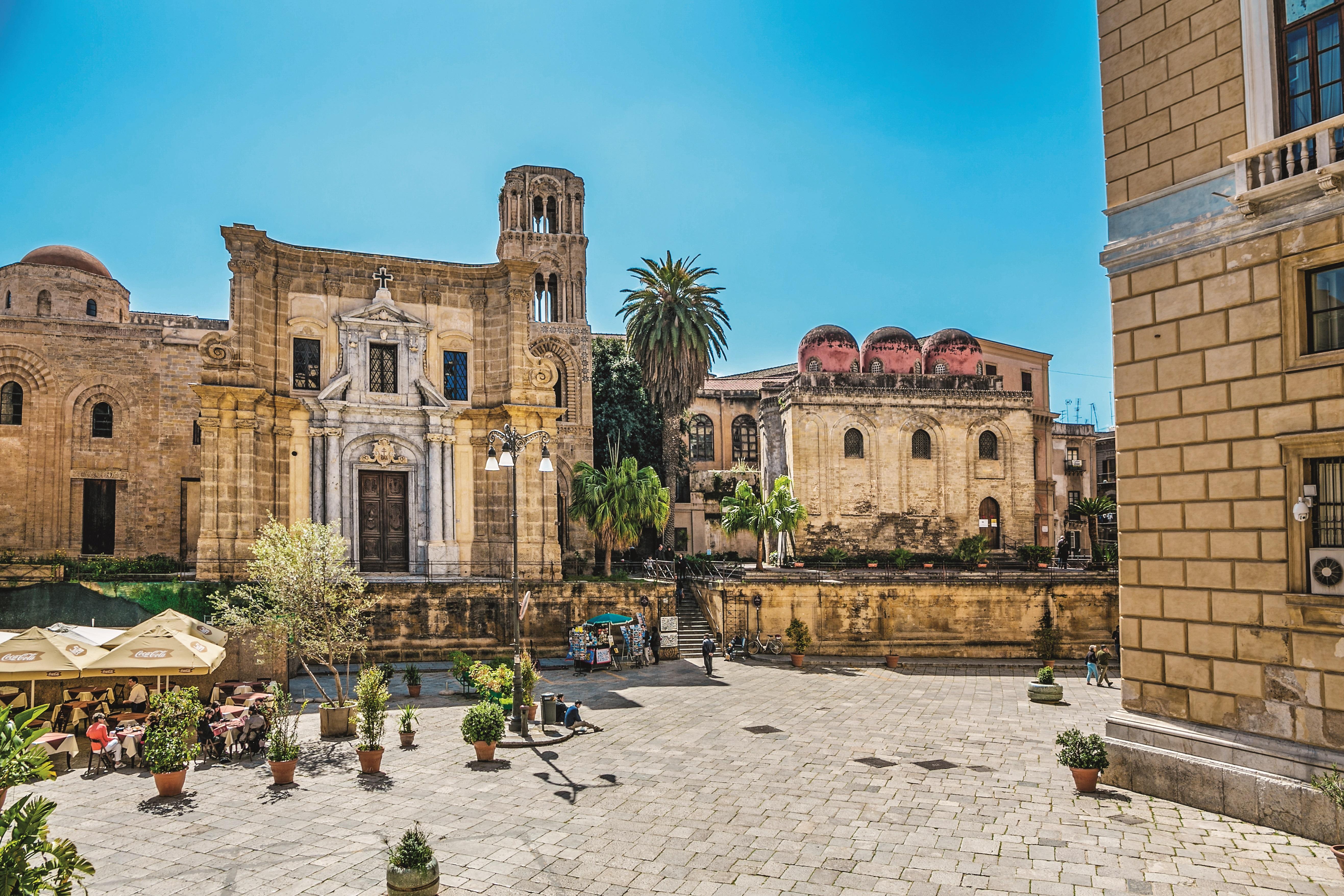 Piazza Bellini Square, Palermo