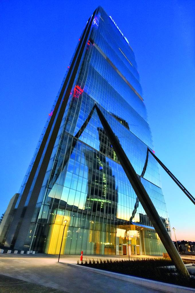 Prédio do CityLife Milano, Itália