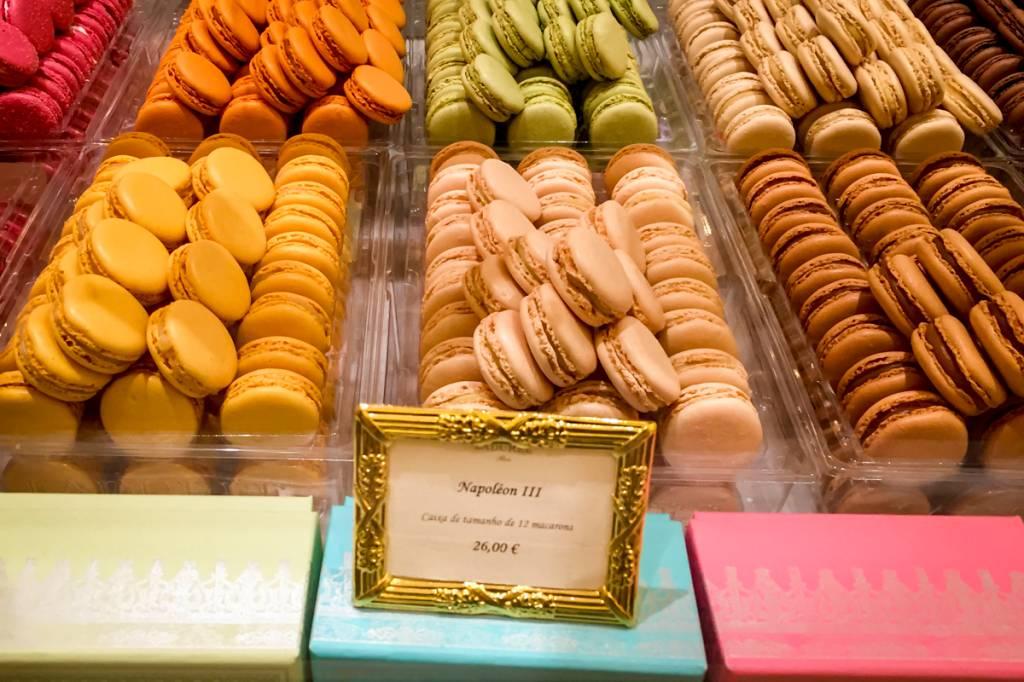 Macarons de todas as cores e sabores: festival de delícias