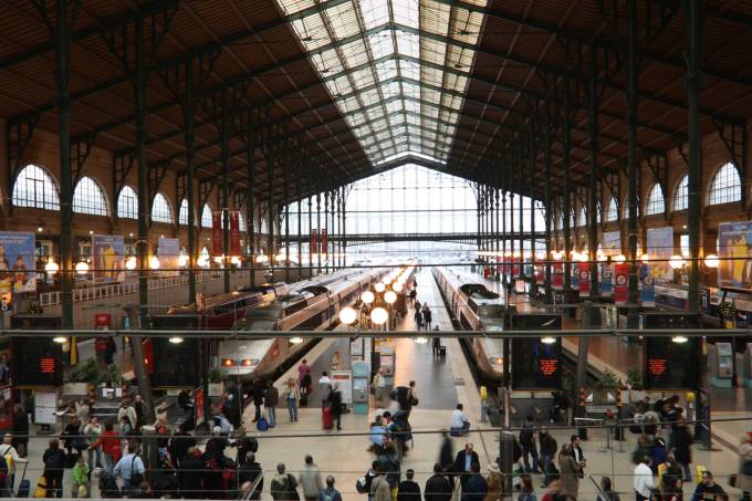 Gare du Nord, estação em Paris