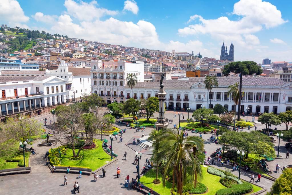 Plaza Grande, Equador